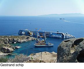 Gestrand schip.290